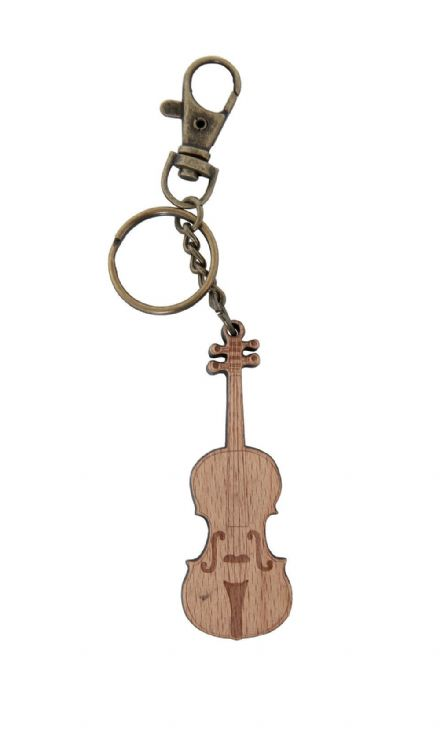 Gewa Wooden Violin Key Chain